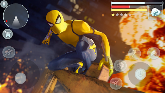 Spider Hero – Super crime city battle MOD (Money/Rewards/No Ads) 4
