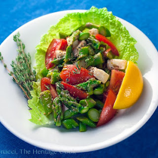 Asparagus Salad with Lemon Vinaigrette (Gluten-Free).