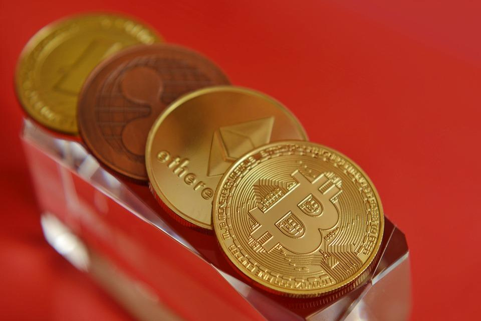 Coins, Cryptocurrency, Virtual, Digital, Currency