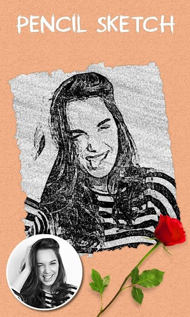 Pencil Sketch Effect – Photo Drawing