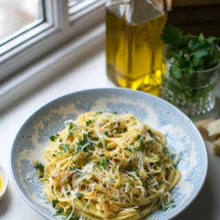 Spaghetti Aglio & Olio.