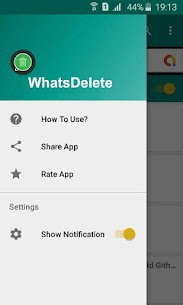WhatsDelete: View Deleted Messages 2
