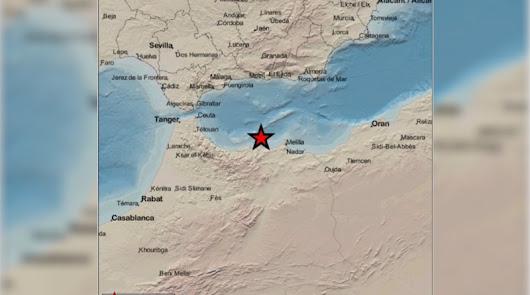 La serie sísmica de Alborán deja más de dos mil terremotos desde abril