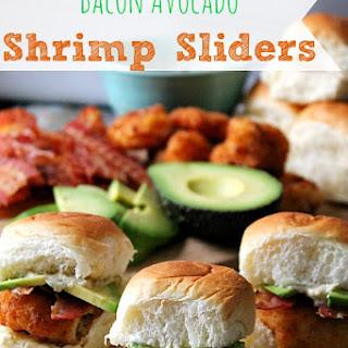 Bacon Avocodo Shrimp Sliders