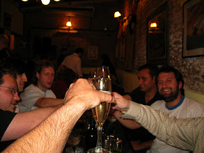 Photo: A toast to OpenSocial and our Argentina hosts
