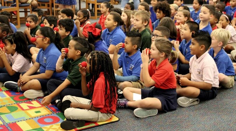 students in a Sarasota County Schools classroom