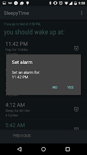 SleepyTime: Bedtime Calculator- screenshot thumbnail