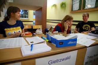 Photo: - Ok, ale baza zawodów jest w Gietrzwałdzie, a nie w Gierzwałdzie. Zostało Wam niecałe 40 km.