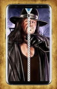 Undertaker Zipper Lock Screen - náhled