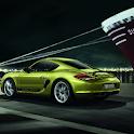 Fonds d'écran Porsche Cayman icon
