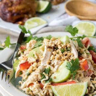 Thai Chicken Pasta Salad.