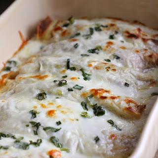 Chicken Crepes With Sauce Recipes.