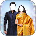 Couple Traditional Photo Suit icon