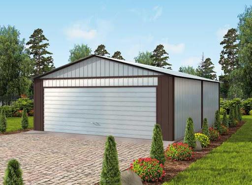 projekt GB15 Garaż Blaszany