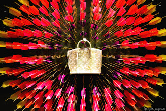 Photo: electric  Second submission to #SaturdayStyle (#SAS) today curated by myself and +lane langmade :)  What's really to say here? Printemps' window display of a Spring 2012 Louis Vuitton handbag.  I dunno, I could be mistaken, but I think they were trying to make some kind of point??? :D