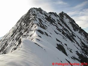 Photo: IMG_8923 per un po si pesta neve, poi torna roccia