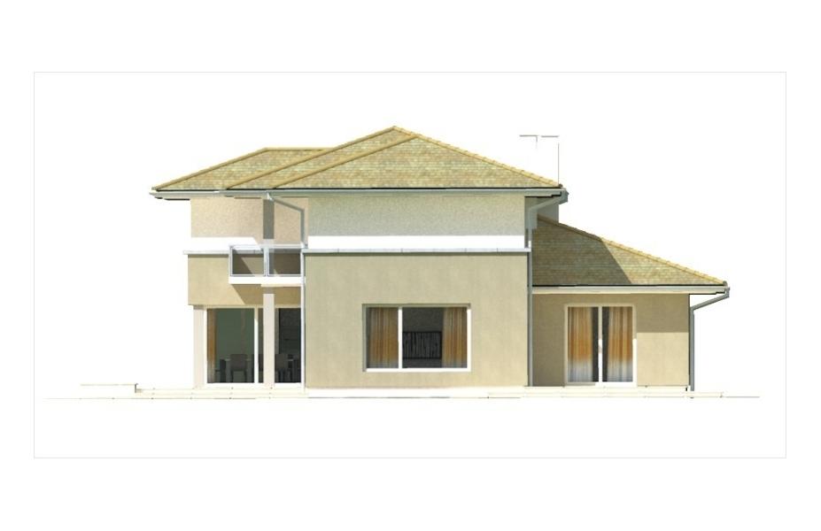 Projekt domu marietta wersja a tjd 317 for 3 13 salon marietta
