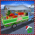 Santa x-mas dono di consegna icon