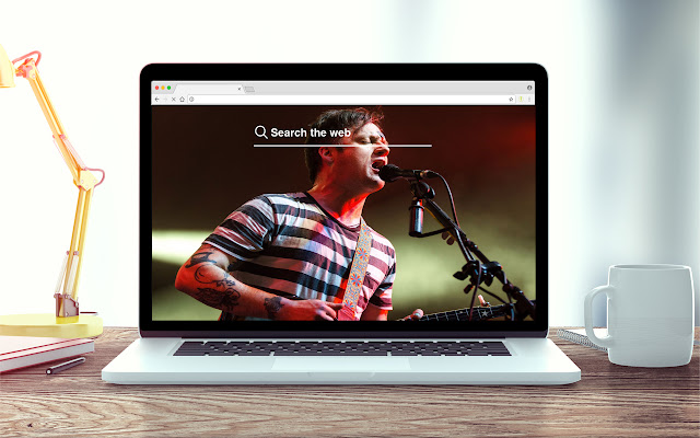 Modest Mouse New Tab Music Theme