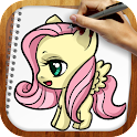 Draw My Little Pony icon