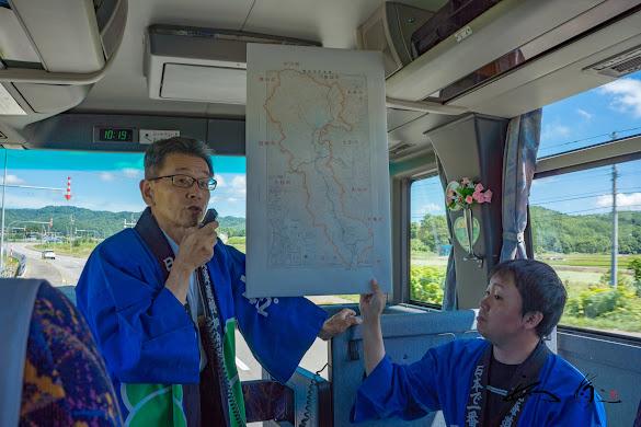 幌加内町は、南北方向63km、東西方向24km、面積767平方km