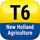 New Holland Ag. T6 range App