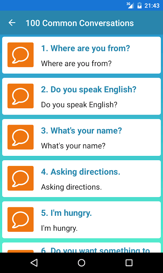 Screenshots of Learn English Daily for iPhone