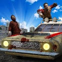 Crazy Zombies Car Wars 3D icon