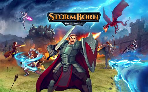 Code Triche StormBorn: Guerre des légendes apk mod screenshots 5