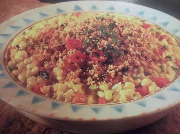 Creamy Corn Au Gratin