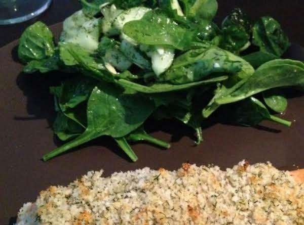 Spinach Cucumber Salad