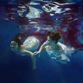 underwater fairy by Dmitry Laudin - Babies & Children Child Portraits