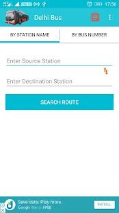 Delhi Bus & Delhi Metro Route - náhled
