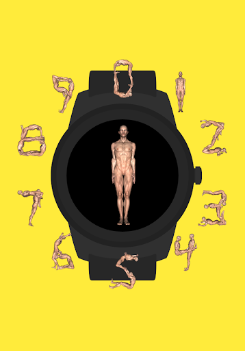 Human Letters Watch Face