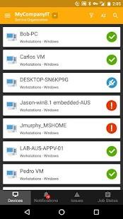 MSP N-central Mobile - náhled