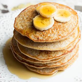 Quinoa Banana Pancakes.