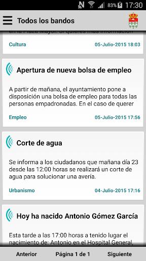 Peraleda de San Román Informa