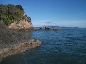 Photo: Rugged coast close to Puatiti Point