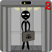 Stickman escape lift 2