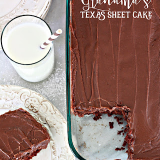 Grandma's Texas Sheet Cake