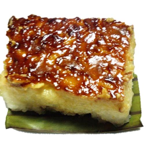 Sticky Coconut Rice Cake|Biko (Vegan)