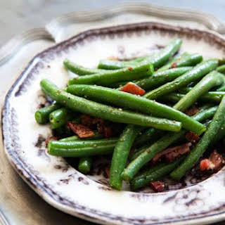 Green Beans with Bacon.