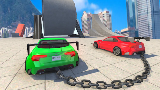Chained 3D Cars - náhled