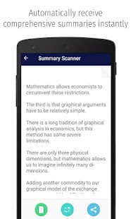 Summary Scanner- screenshot thumbnail
