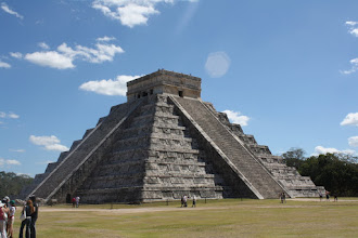 Photo: El Castillo at Chichen Itza