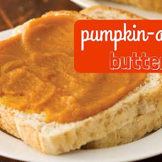 No Added Sugar Pumpkin-Apple Butter.