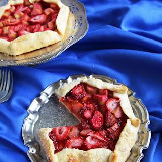 Strawberry Rhubarb Galette.