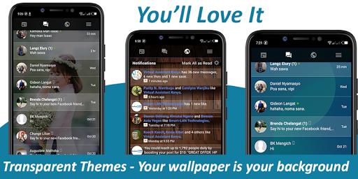 Transparent Messenger screenshot 1