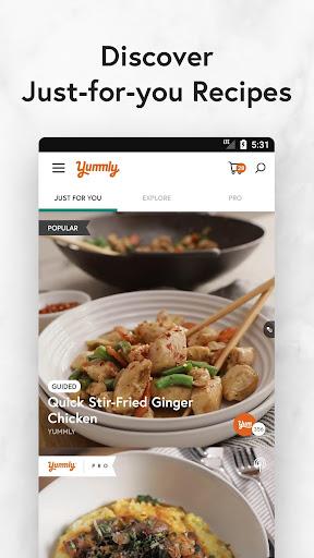 Yummly Recipes & Shopping List screenshots 1