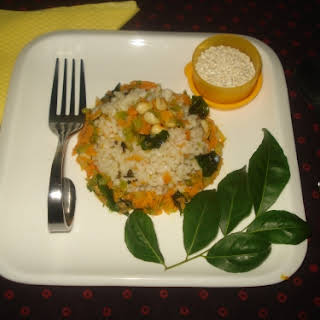 OoMugi Barley-vegetable upma.